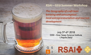 RSAI-GSSI 2018 Summer Workshop on Craft Beers Geography