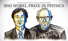 Physics Nobel prize for discovering neutrinos have mass