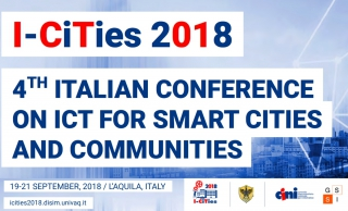I-CITIES 2018: Call for Abstracts