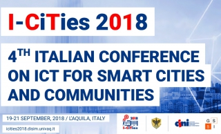 I-CiTies2018: quarta edizione arriva all'Aquila, GSSI partner scientifico