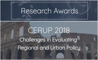 Research awards for public policies, regional and urban sciences